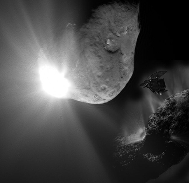 Comparison of Deep Impact expectations to what was observed